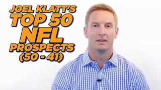 Top 50 NFL Draft Prospects (50-41) | Joel Klatt | THE HERD