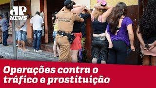 Operações contra o tráfico e prostituição move forças armadas por todo o território do RJ