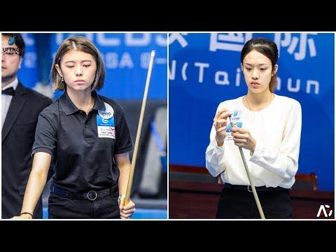 2019 CBSA Taishun 9-Ball International Open│Xin-Yu LI 李心語 Vs Yu-Xuan FAN 范育瑄