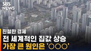 전 세계적인 집값 상승…원인은 '○○○' / SBS /…