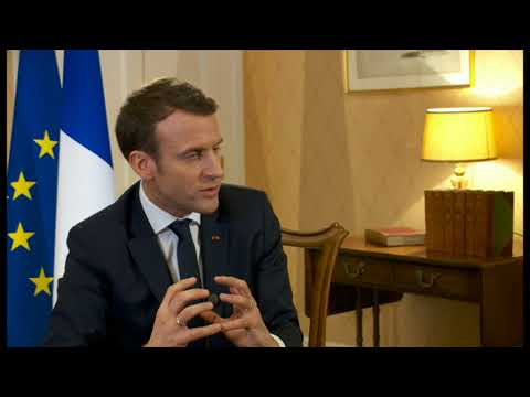 President Macron's interview on BBC World with Andrew Marr