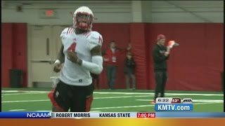 Armstrong Confident He'll Play vs. Iowa