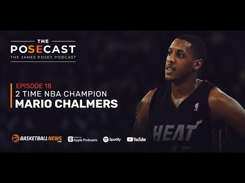 Mario Chalmers on Playing Alongside LeBron and D-Wade, Kobe's Support, Clutch Moments at Kansas