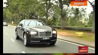 The most luxurious fastback in the world. The Rolls Royce Wraith experience