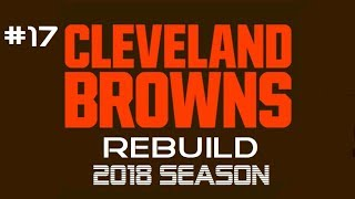 Cleveland Browns Rebuild Ep17 Changes at RB (Poor Quality)