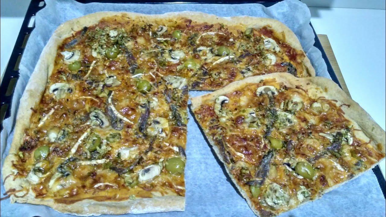 receta masa pizza para panificadora lidl