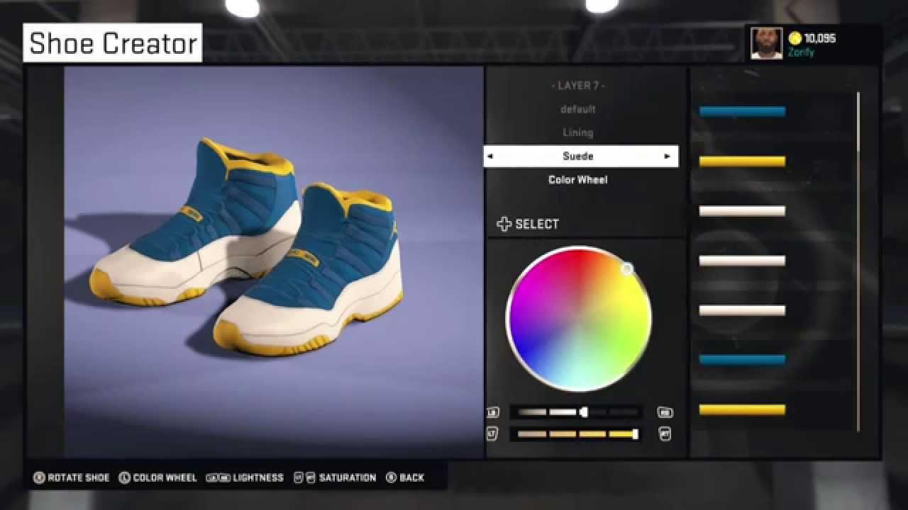 0f1f64f5dc83 NBA 2K15 Shoe Creator - Air Jordan 11 Custom