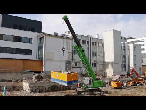 SENNEBOGEN 653 E-Series - Lifting in Special Foundation - Germany