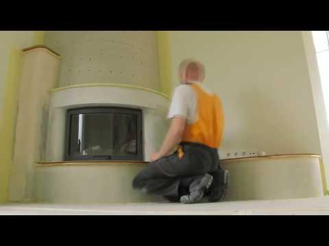 видео: Изготовление индивидуальной каминной облицовки