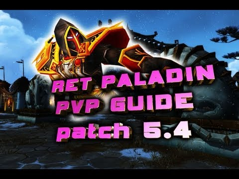 Mop retri paladin dps guide patch 5. 0. 4 youtube.