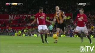 EFL Cup Highlight Manchester [2] United V Hull [0] 11/1/2017