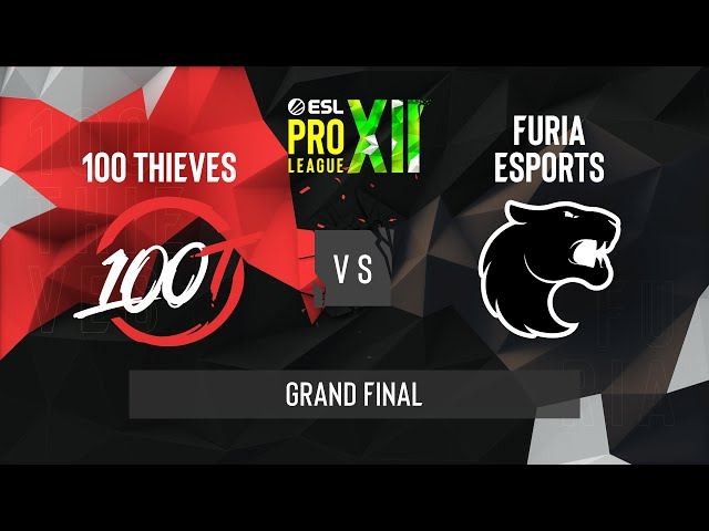 CS:GO - FURIA vs. 100 Thieves [Inferno] Map 2 - ESL Pro League Season 12 - Grand Final - NA
