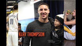 Lil Steph Curry and Klay Thompson | Day in the Life