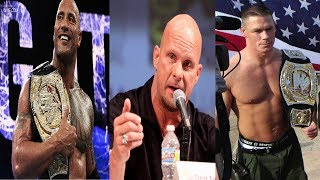 Top 10 richest WWE SUPERSTAR 2019★the rock,Steve Austin,John Cena,★