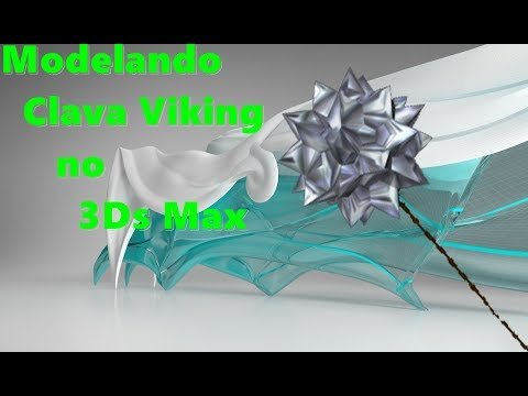 Modelando Clava Viking com 3Ds Max
