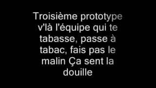 Sexion d'assaut La Douille paroles