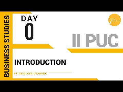 DAY 0 | Business Studies | II PUC | Introductionиз YouTube · Длительность: 25 мин23 с