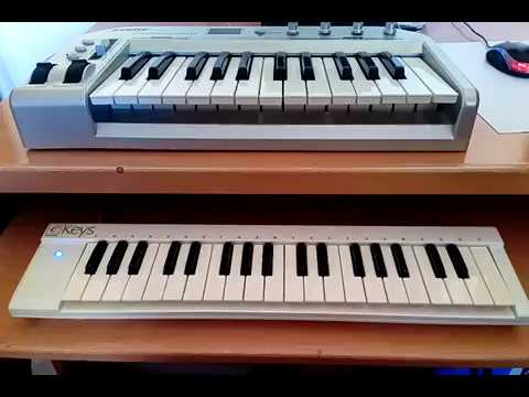 Teclado Controlador MIDI USB FAME KC25 & eKeys Evolution