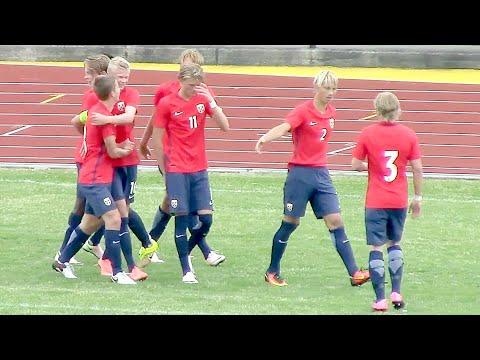 20160629 [U17] NORWAY U16 - INDIA [U17 WORLD CUP SQUAD] [Erling Braut Håland]