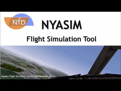 NYASIM: Simulation of an Autonomously Flying Diamond DA42-VI