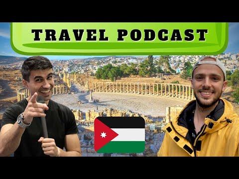 PODCAST Travel to Jordan ft @Ibn Hattuta Travels #27