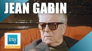 La dernière interview de Jean Gabin | Archive INA