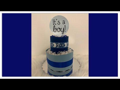 It's A Boy Diaper Cake!/#CROCHETTOPSBYSS/Please SHARE/Crochet Sandals