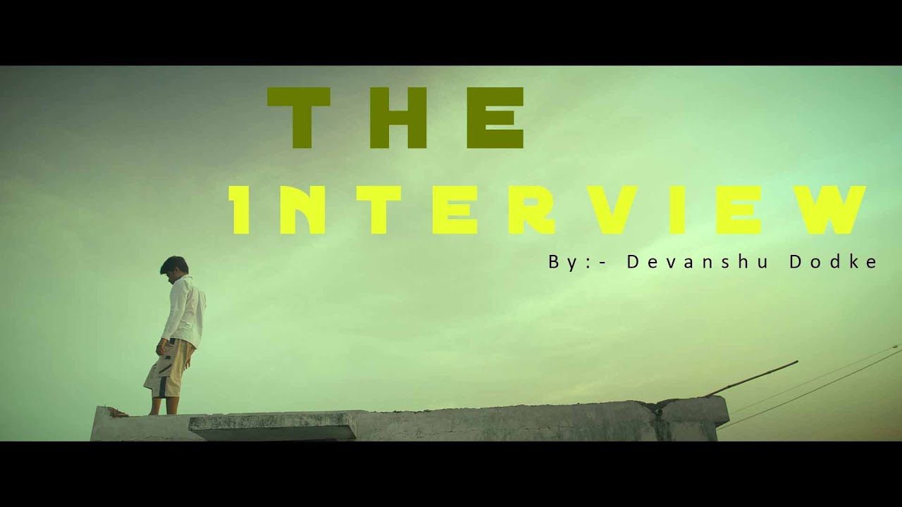 My Rode Reel 2020 | The Interview | By Devanshu Dodke