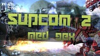Gameplay: Supreme Commander 2 med Gex [fuld kamp] Skub dem væææk!!