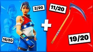 🔥 I NOTE YOUR 20 TRYHARD SKIN COMBOS ON FORTNITE! v15
