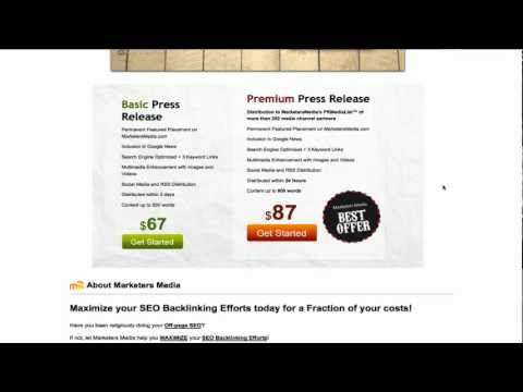Marketers Media Review - Press Release Distribution Newswire