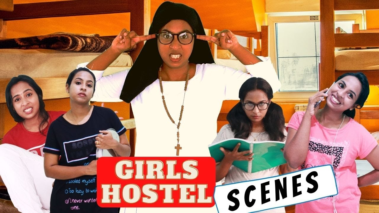 Girls Hostel Scenes |  Bloopers At the End | Simply Silly Things