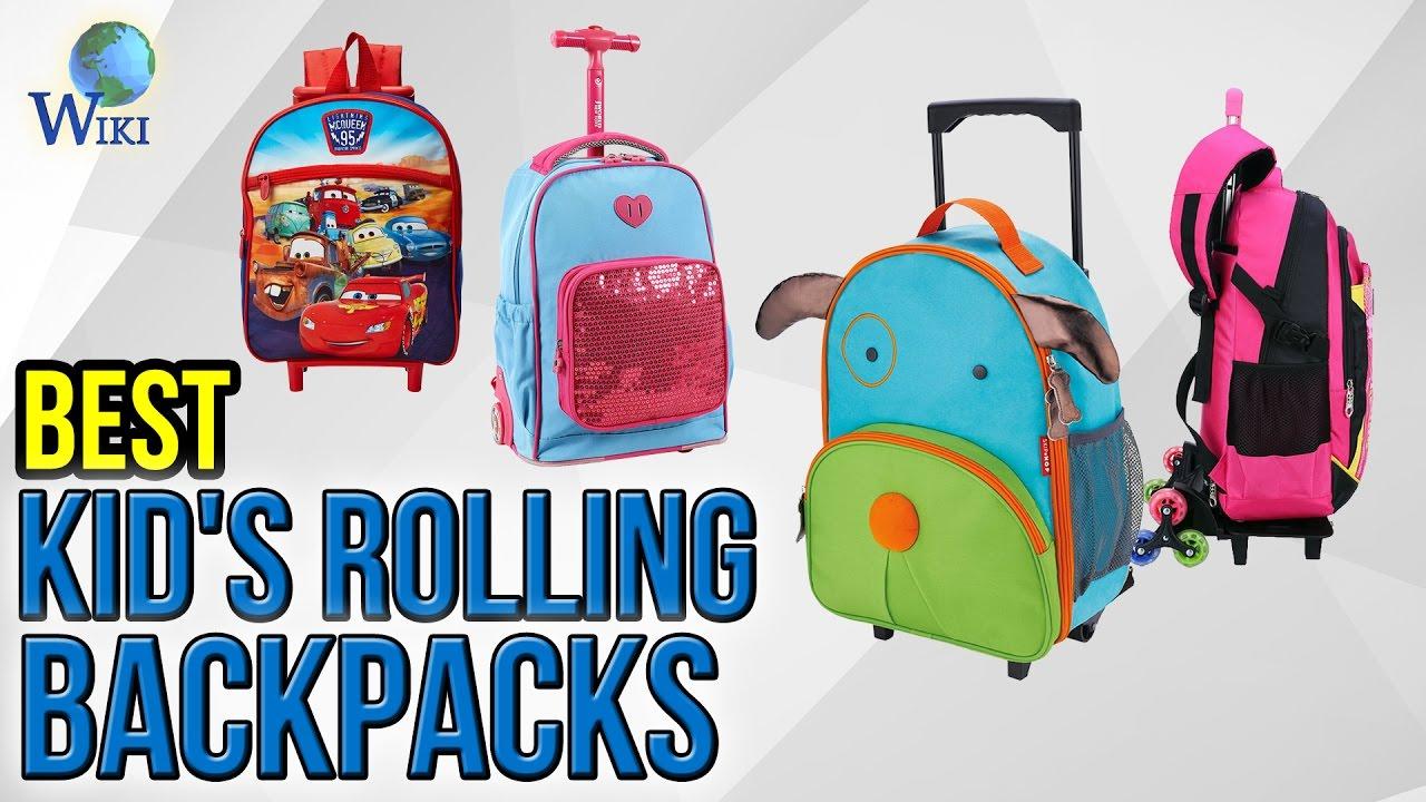 7 Best Kid s Rolling Backpacks 2017 - YouTube eba9bd316327f
