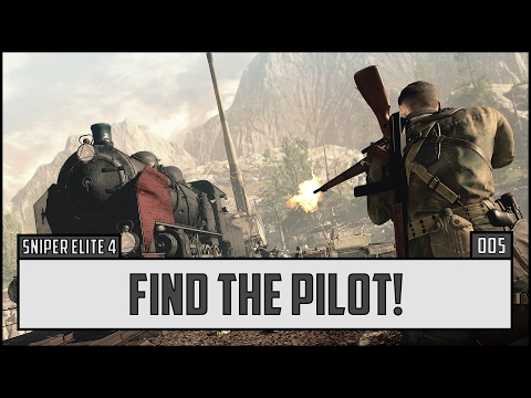 ? Sniper Elite 4 Gameplay Walkthrough – Part 5 – PC, PS4 Pro, Xbox One