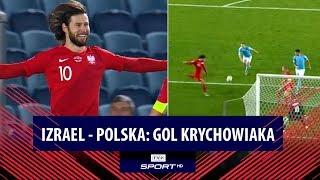 Gol Grzegorza Krychowiaka (Izrael - Polska 0:1. el. Euro 2020)