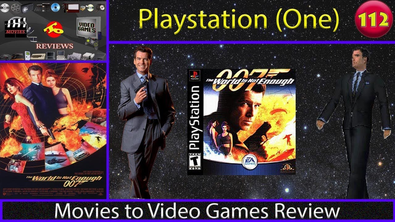 Movies To Video Games Review The World Is Not Enough Ps1 Youtube