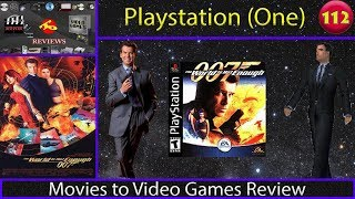 Movies to Video Games Review - The World is Not Enough (PS1)