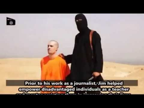 ISIS Terrorist With British Accent Beheads American Journalist James Foley