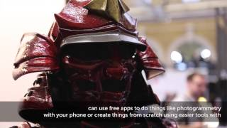 3D Print Show London 2014 Highlights Extended Edition   Presented By Solopress HD