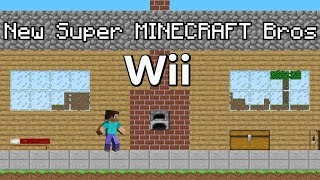 New Super MINECRAFT Bros Wii | 4K 60FPS  (15K Sub Special)