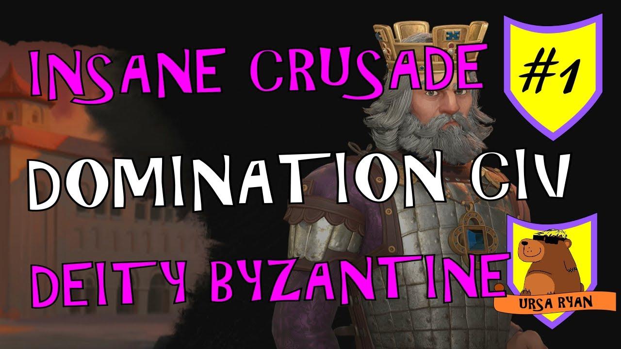 Download Absolutely Insane Domination Tactics #1 – Deity Byzantine Civ 6