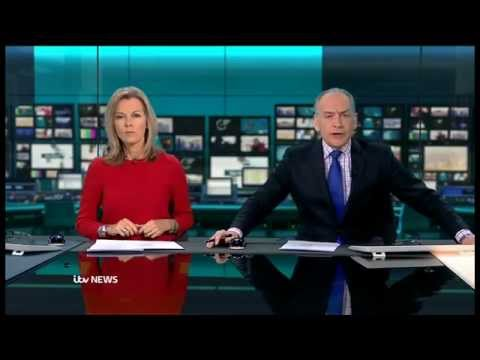 ITV News at 6.30: New look - January 14 2013