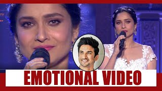Pavitra Rishta: When Ankita Lokhande cried on stage for Sushant Singh Rajput, Watch Emotional Video