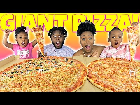 THE BIGGEST Pizza MUKBANG EVER | NEW YORK STYLE PIZZA | CHEESY | EATING SHOW | Family Mukbang | 먹방