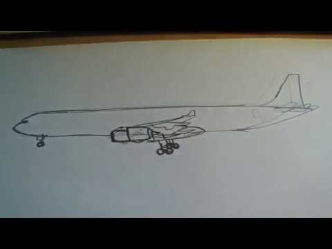 Richdraw10: Drawing a Airbus A340-600