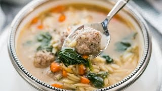 Italian Meatball Soup aka Wedding Soup
