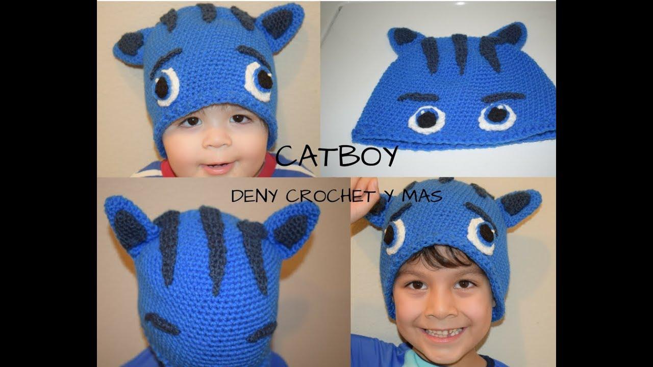 Ravelry: Catboy Mask Hat (PJ Masks) pattern by Dove Crafts UK | 720x1280