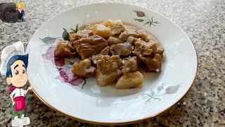 Как Приготовить Гуляш из Свинины с Подливкой