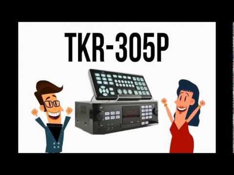 TJ MEDIA TKR-305P Latest HDD Karaoke Player
