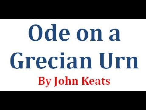 Ode on a Grecian Urn by John Keats | বাংলা লেকচার | Bangla Lecture